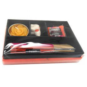Incense gift box orchid & peach