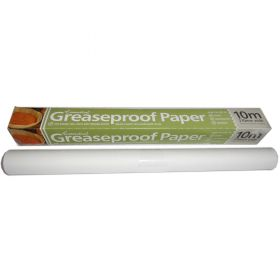 Greaseproof paper 10m roll