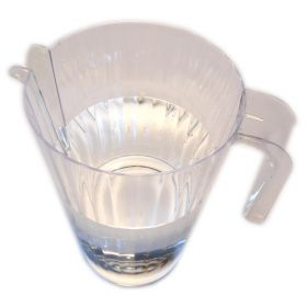 1.4l clear plastic water jug