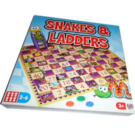 Snakes & Ladders game boxed